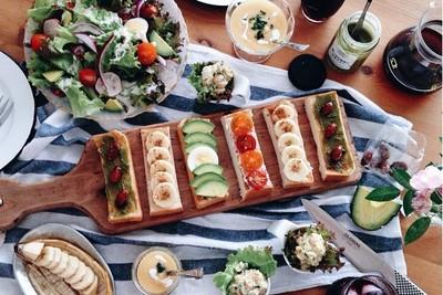 超費工高顏值三明治,做完我都餓死了