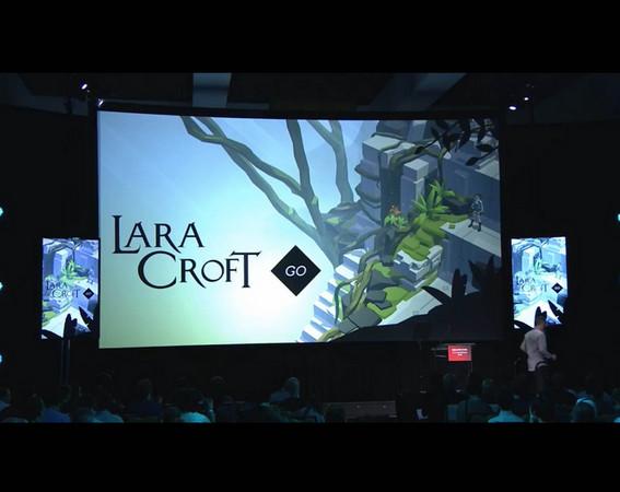 [2015E3]《古墓奇兵》改編成手遊《Lara Coft Go》