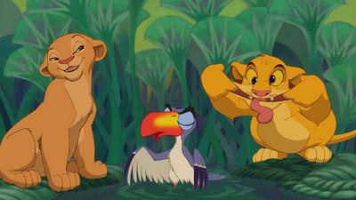 當獅子王變成人..哥走的是寫實路線~