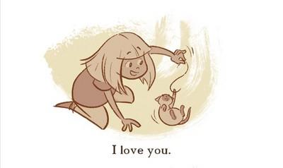 對已逝愛貓的深情喊話,史上最動人的我愛你