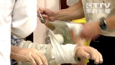 「50%燒傷要清3、4小時」清創開始 考驗整外醫師體力