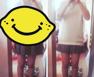 櫻花妹制服迷你裙的秘密…毛衣超重要!XD