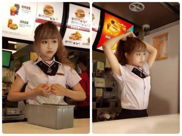 当年爆红梦幻「麦当劳正妹」去哪? 如今快认不出了啦