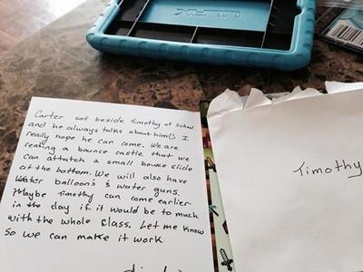 一封自閉症小孩母親的感謝信 看完眼眶濕濕的