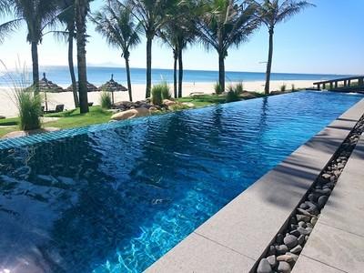 越南海景無邊際泳池 差點以為自己是美人魚
