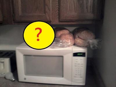 原來是一條麵包啊,我還以為是喵星人呢~