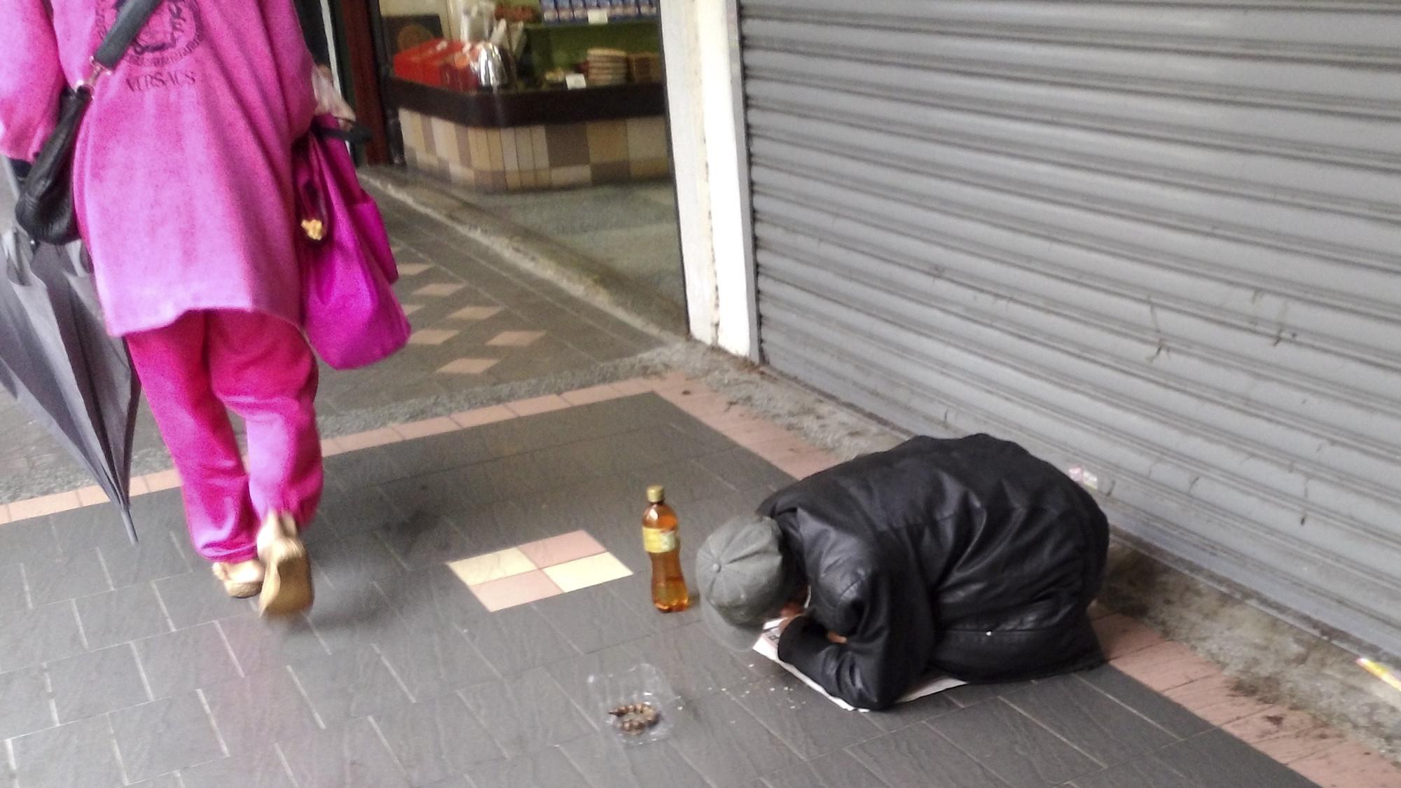 乞丐、遊民(圖/記者黃克翔攝)