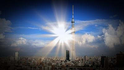 東京晴空塔的異能?這麼漂亮原來是AT力場啊