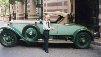 這輩子只開這輛車,百歲人瑞與愛車共度的78年
