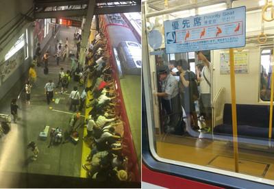 眾人齊力推移列車救人,見證日本人「絆」的力量