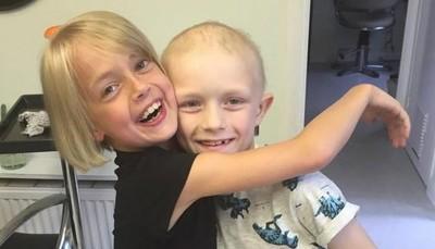 「男朋友」入院化療,看看9歲小女孩學到了甚麼
