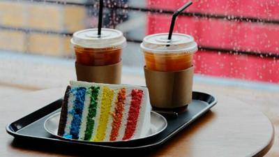 惡魔の誘惑!親手烤出專屬你的「彩虹蛋糕」