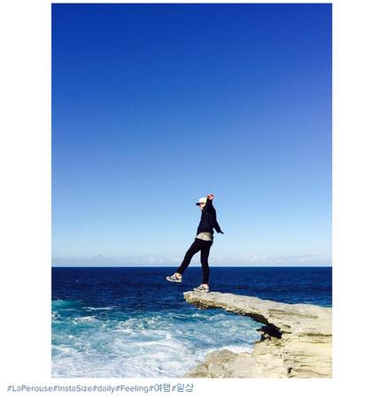 ▲事發地點在絕美風景的海岸邊。(圖/翻攝自maco推特)