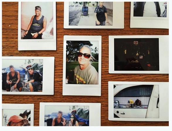 ▲每個照片都有一個故事。(圖/翻攝自The Homeless Paradise)
