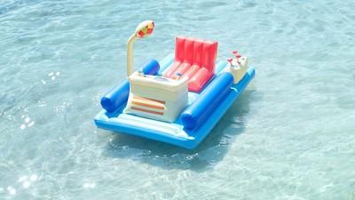 乘著時光機浮床衝浪,在海上完成兒時夢想❤