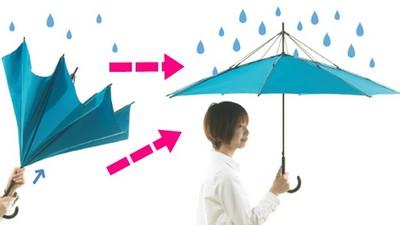 顛倒傘搞得我好亂..開傘瞬間才最有梗