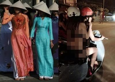 街頭直擊越南妹!女孩服裝盡是妄攝視角...