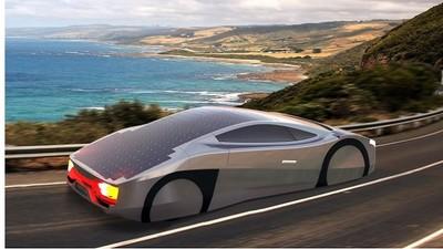 比蝙蝠車還帥,一路開到掛太陽能超跑問世