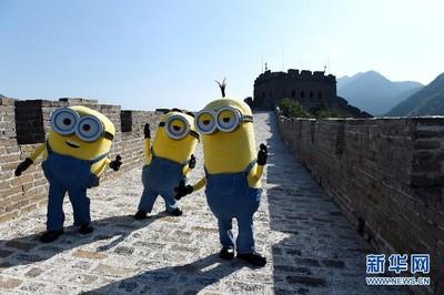 《小小兵》全球票房破300億 登萬里長城驚喜撿到香蕉
