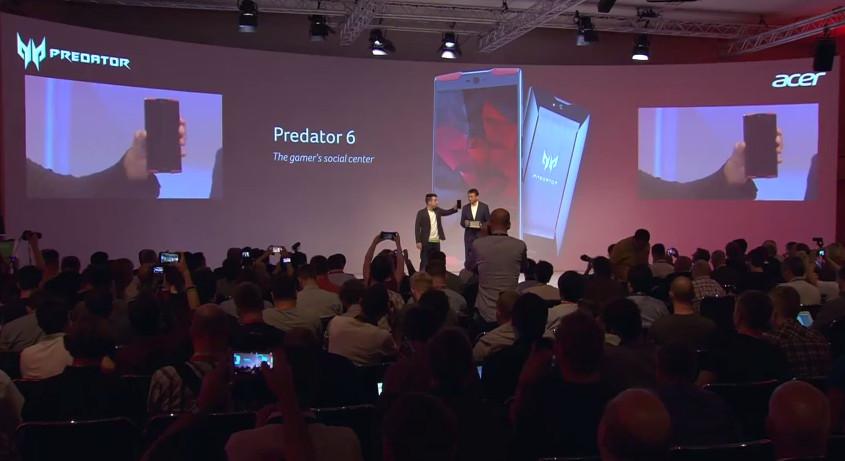 搶進電競!宏碁發表電競筆電、投影機與Predator 6手機(取自YouTube)