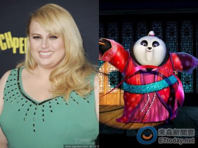 胖艾美爆被《功夫熊貓3》換角!首隻母熊貓聲音換人說