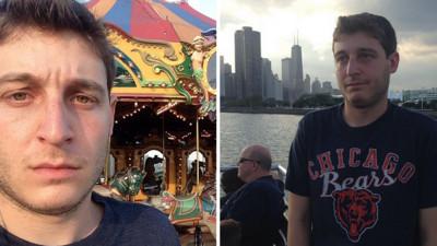 他飛到芝加哥參加單身趴,結果朋友一個都沒來