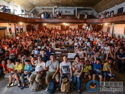 50年來從沒這麼多人! 觀眾看《太陽》擠爆花蓮老戲院