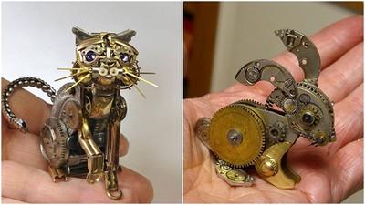 將回憶翻新 拆開舊錶成為掌心寵物