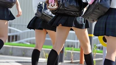 不能只有我看到!櫻花妹裙子太短我起邪念了