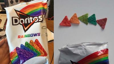 「彩虹多力多滋」繽紛來襲!多不健康吃了就知道