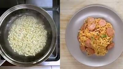 「泡麵義大利麵」美味上桌!料理生手一定也煮得來