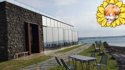 濟州島志龍牌海景咖啡廳,就等VIP你的光臨❤