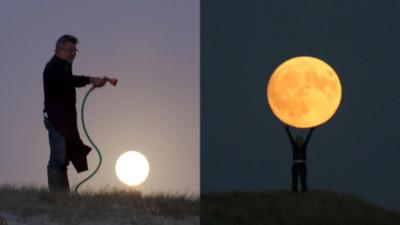 另類中秋賞月法,用想像力把月亮種出來吧