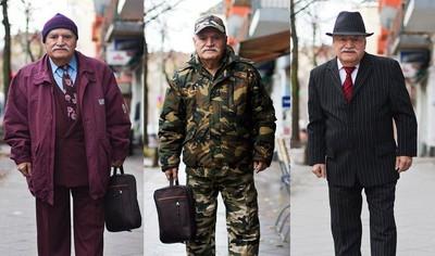 85歲街拍潮爺~每天穿搭不重複是基本