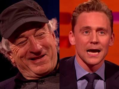 影/看到湯姆希德斯頓模仿自己!勞勃狄尼洛咧嘴笑開懷