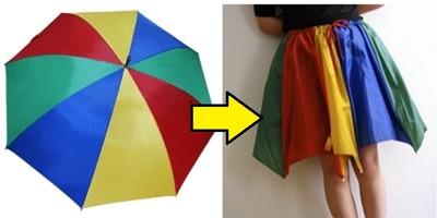 少了把傘,卻多了件裙?廢傘利用10招