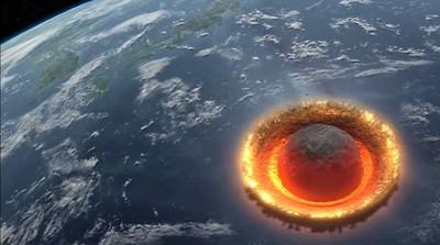 如果直徑500公里隕石砸地球 你有多久能逃呢?