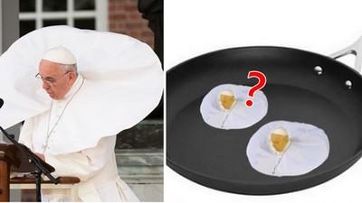 P圖大戰玩壞教宗,變煎蛋真的不太對