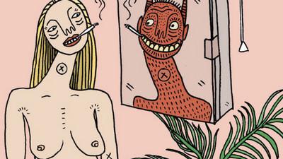 自拍、獵豔、享受性愛,插畫家筆下的現代女性