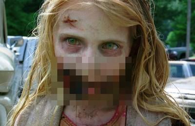 《陰屍路》第一季小女孩殭屍,現在變大美人了