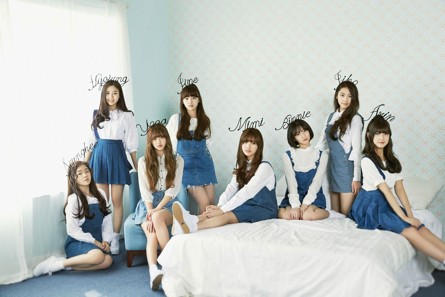 Oh My Girl成員JinE驚爆因過度節食,罹患厭食症。(圖/翻攝自Oh My Girl官方網站)