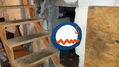 他買二手屋,竟在地下室發現神秘小房間