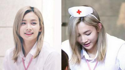 金髮俏護士問診中❤白衣天使絕不會是男兒身的