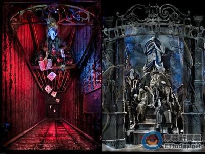 影/《腥紅山莊》場景完整呈現!5款櫥窗製作過程曝光