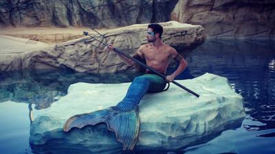 各種天菜化身美男魚,這線條根本海神波塞頓