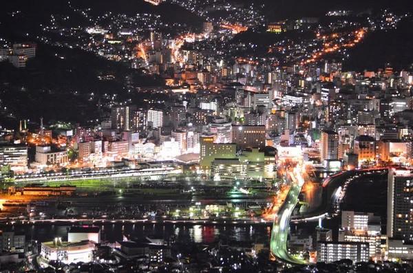 大 夜景 三 日本 日本三大夜景