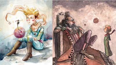 150位畫家致敬《小王子》 不同風格重現經典