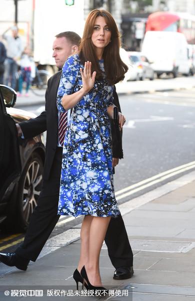 凱特王妃超會穿 時髦關鍵字是?(圖/CFP)