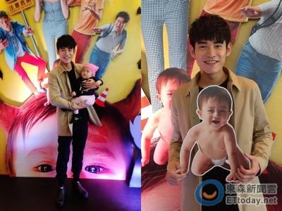 張書豪的兒子是「西台」混血兒!1歲豆寶生日影片萌爆