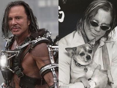《鋼鐵人》米基洛克舉槍想自殺 1隻狗救了他!